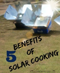 5 Benefits of Solar Cooking