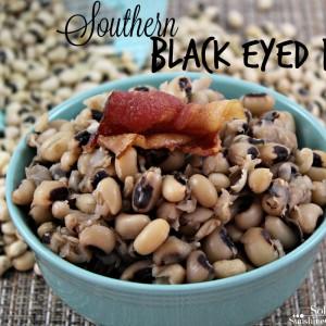 Solar Cooking Black eyed peas recipe