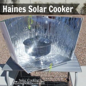 Haines Solar Cooker solar cooking