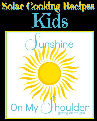 Solar Cooking Kids