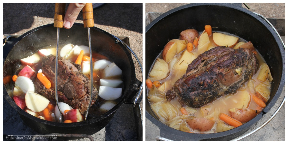 Venison Pot Roast in Dutch Oven