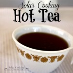 How to Make a Cup of Hot Tea in a Solar Oven