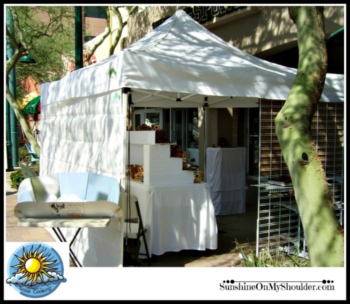 Adventure In Solar Cooking Craft Booth