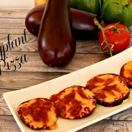 Eggplant Pizza for Solar Cooking
