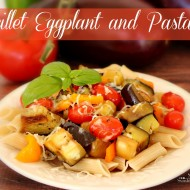 Skillet Eggplant and Pasta |Solar Cooking Recipe