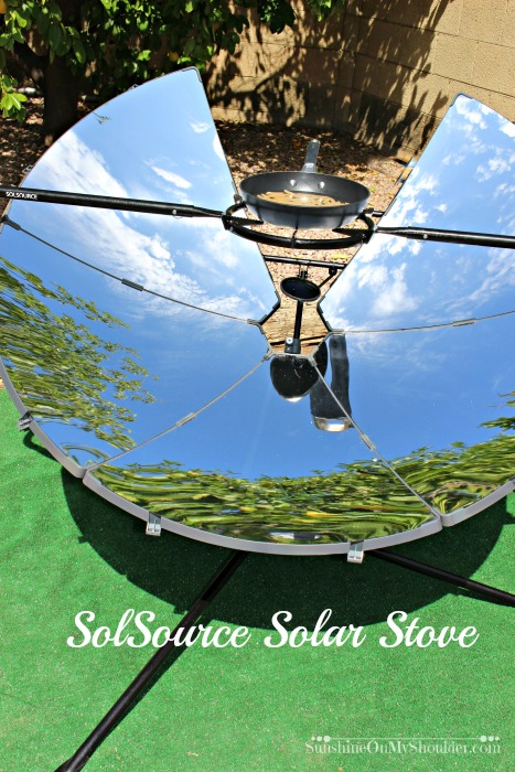 Solsource Solar Stove for solar cooking