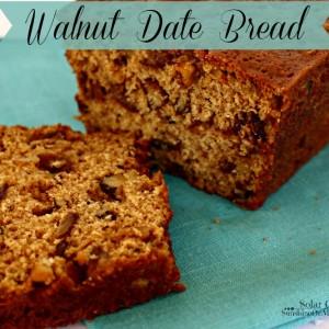 Walnut Date Bread Recipe Solar Cooking