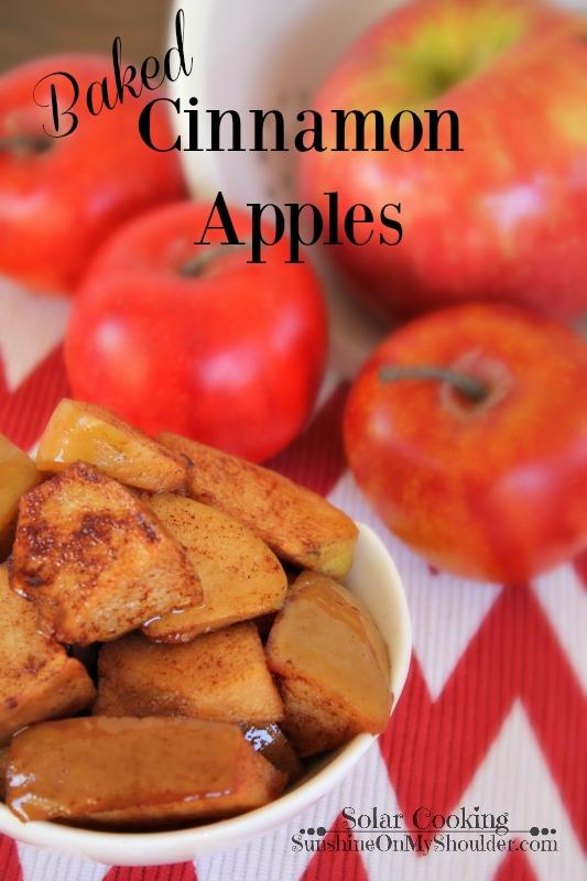 Cinnamon Apple recipe for solar cooking