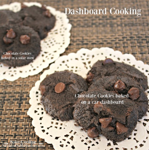 Dashboard Cooking solar