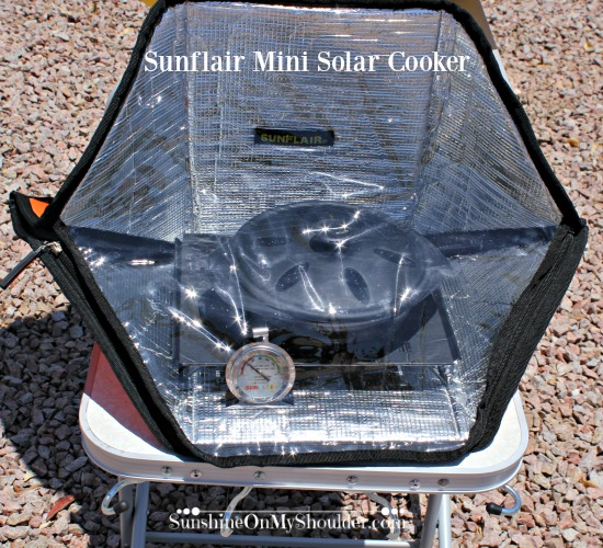 Sunflair Mini Solar Oven