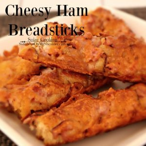 Cheese Ham Breadsticks | Solar Cooking