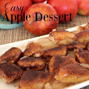 Easy Apple Dessert | Solar Cooking