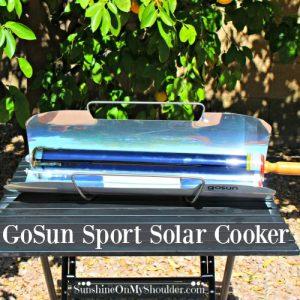 GoSun Sport Solar Cooker Review
