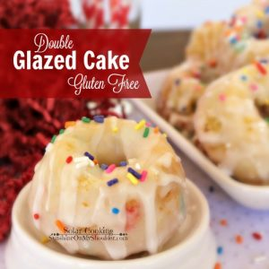 Solar Cooking: Gluten Free Double Glazed Cake