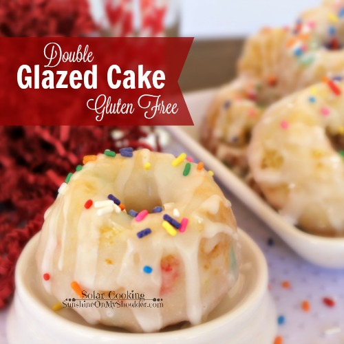 Double Glazed Cake Gluten Free solar cooking recipe