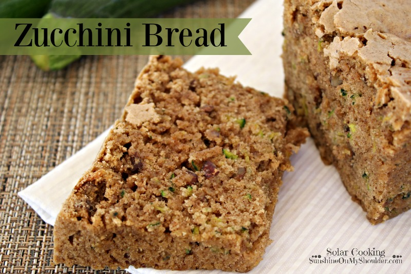 Zucchini Bread is a solar cooking recipe.