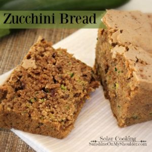 Zucchini Bread: Solar Cooking Recipe