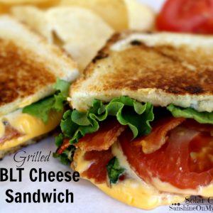 BLT Grilled Cheese Sandwich | Solar Cooking