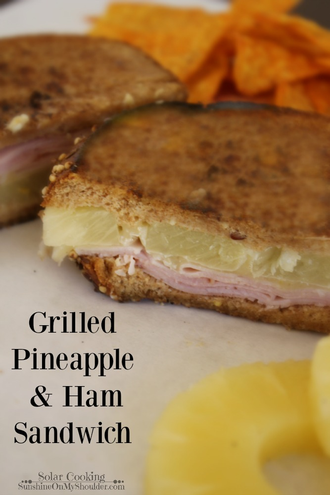 How to Grill a Pineapple Ham Sandwich on a Solar Grill.How to Grill a Pineapple Ham Sandwich on a Solar Grill.