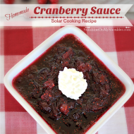How to Make Homemade Cranberry Sauce in a Solar Oven