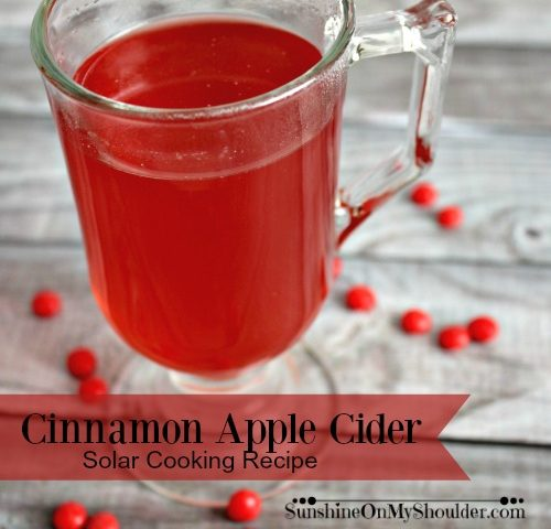 Cinnamon Apple Cider Recipe for Solar Cooking