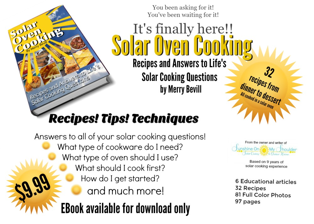 Solar Oven Cooking Cookbook