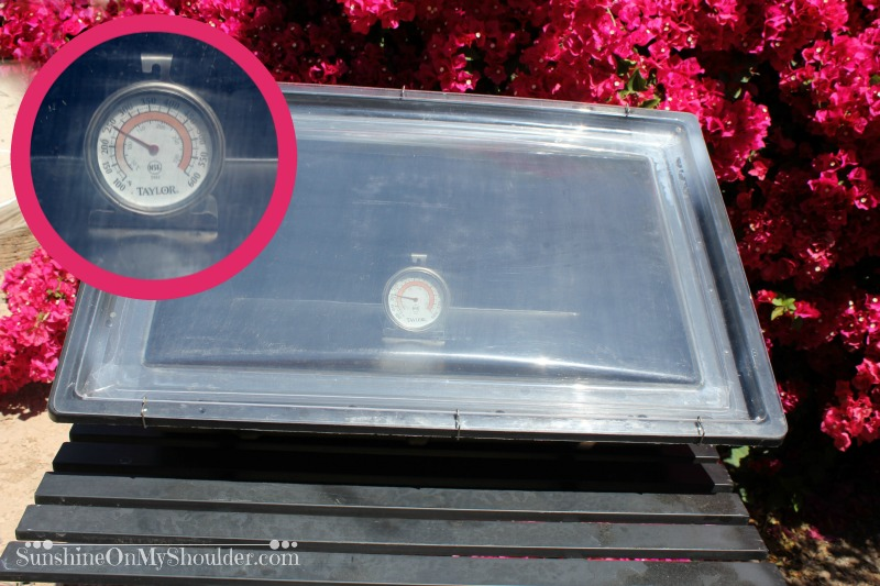 How to repair the Sport solar oven lid.
