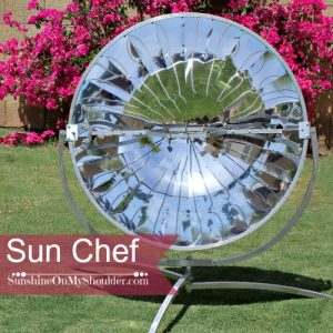 Review of the Sun Chef Cooker – a Parabolic Solar Cooker