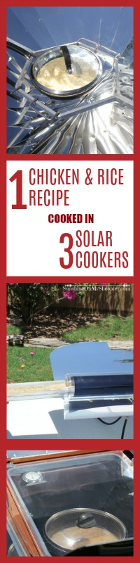 Chicken Rice Recipe for solar cooking