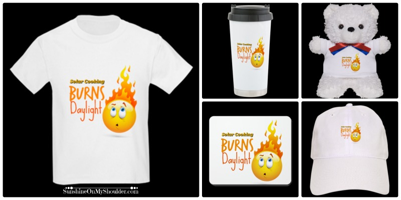 Solar Cooking Gifts, Solar Cooking T-shirts