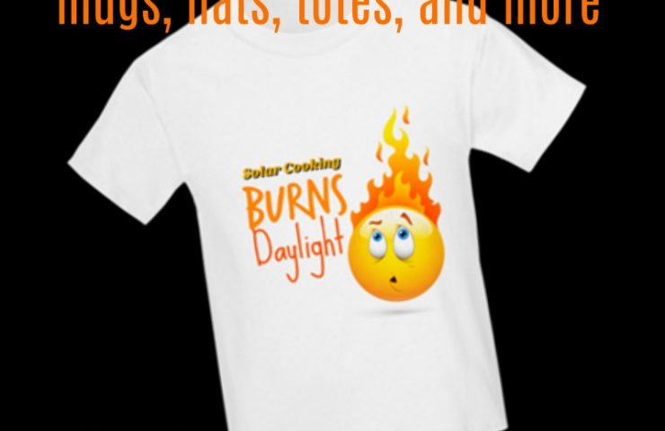 Solar Cooking Gifts | Solar Cooking T-shirts