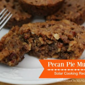Easy Pecan Pie Muffins Recipe for Solar Oven Cooking