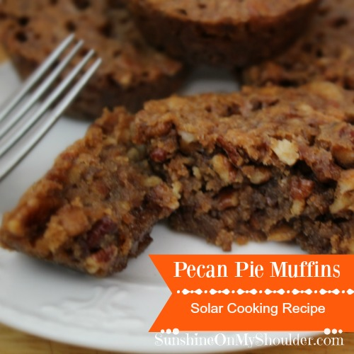Pecan Pie Muffins recipe for Solar Oven Cooking