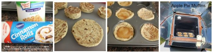 Easy Apple Pie Muffins Recipe for Solar Cooking