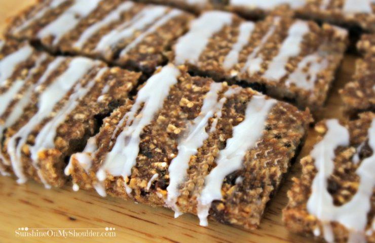 Banana Oat Bars Solar Cooking Dessert Recipe