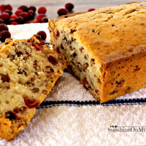 Cranberry Nut Bread Recipe for Solar Oven Cooking