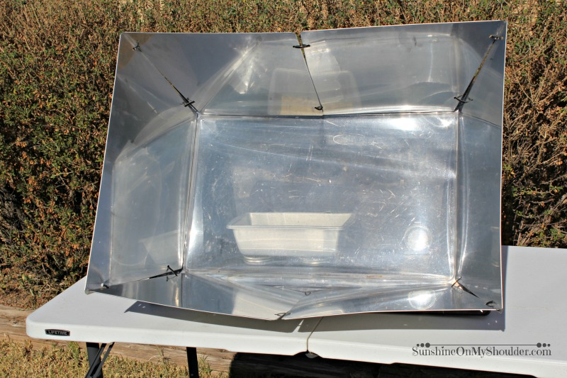 Cranberry Nut Bread in Solar Oven
