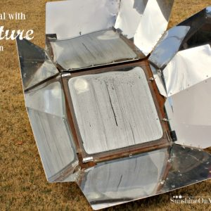 How To Deal with Moisture in the Solar Oven