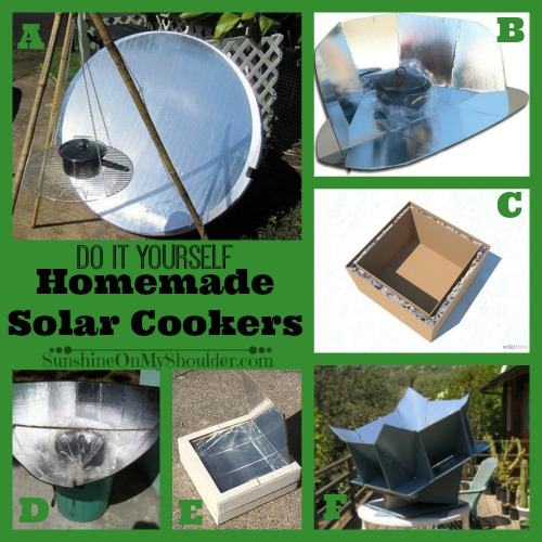 DIY Solar Cookers to make